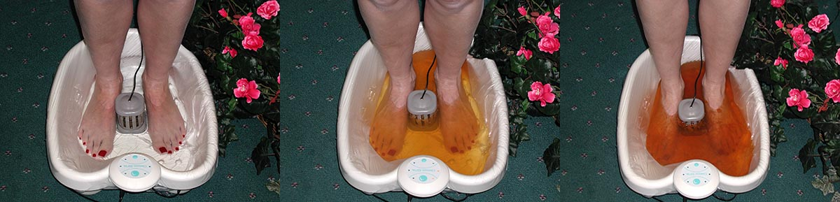 Ionic Cleansing Detoxification Foot Bath